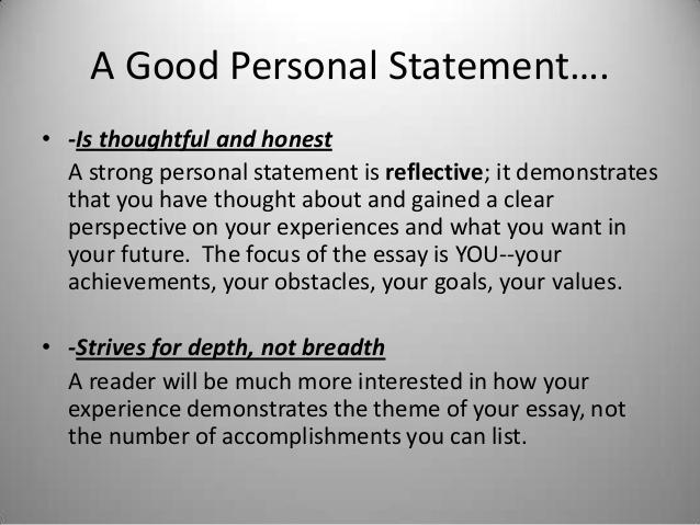 College personal statement - College Homework Help and Online Tutoring