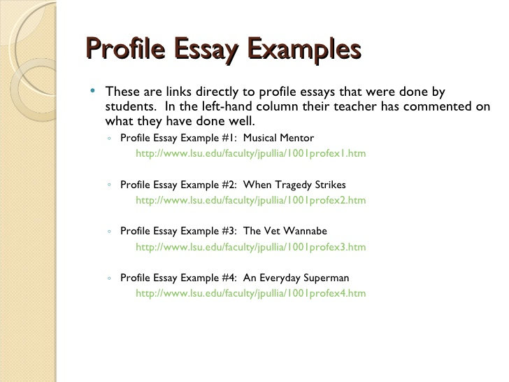 11 creative writing examples