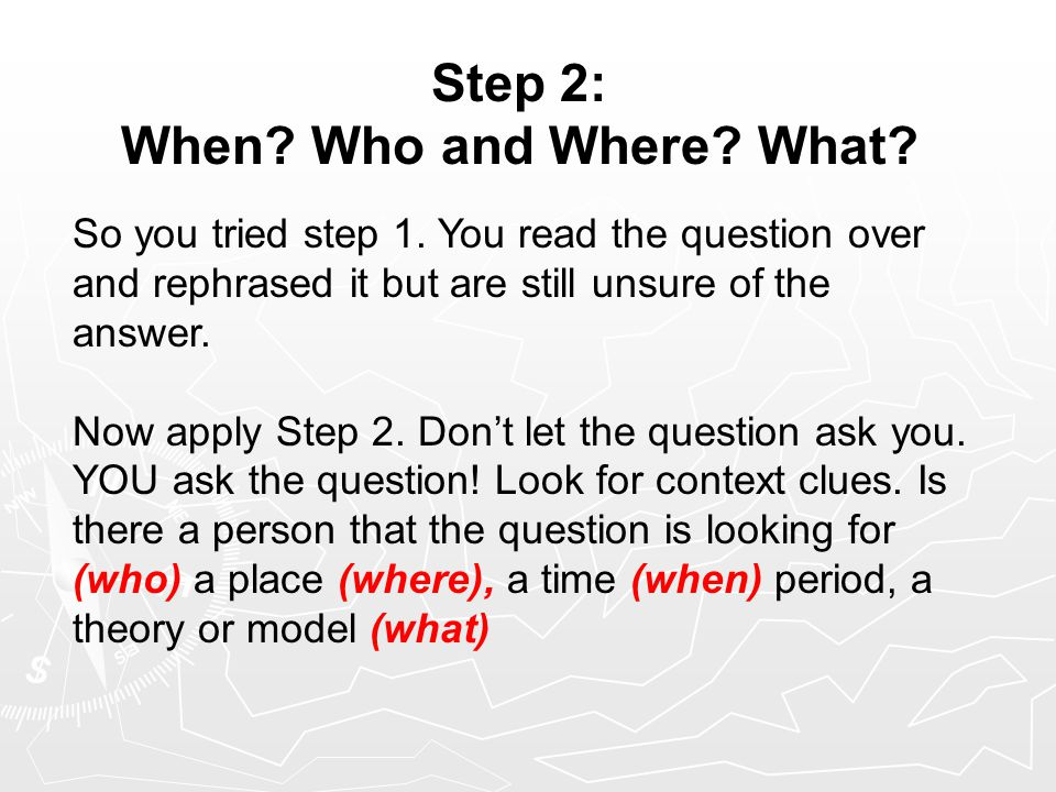 Directions for multiple choice questions - College Homework